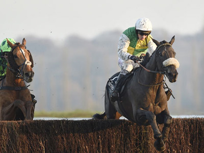 Clouds on Gold Cup trial in Cotswolds