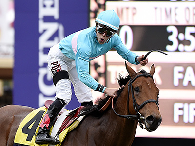 Lady Eli bids to be Breeders' Queen