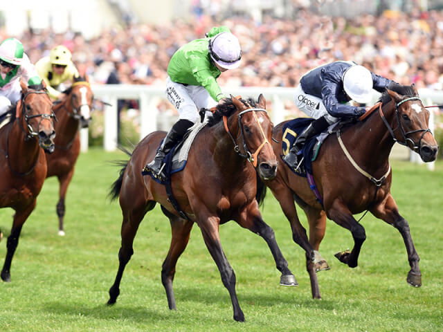 Arthur Kitt wins the Chesham Stakes