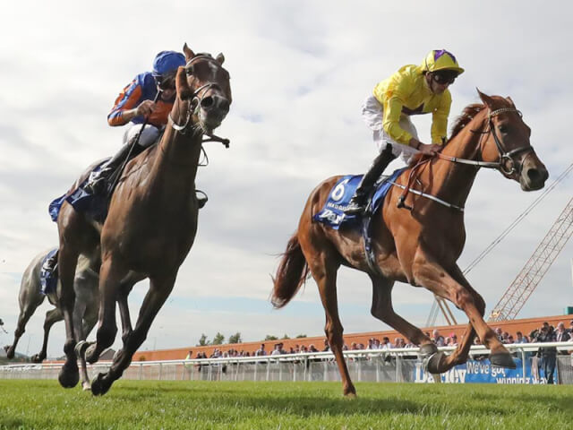 Sea Of Class wins the Irish Oaks