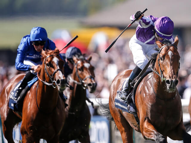 Saxon Warrior wins the 2000 Guineas