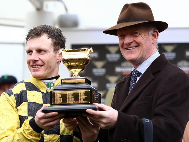 Willie Mullins and Paul Townend won the Gold Cup