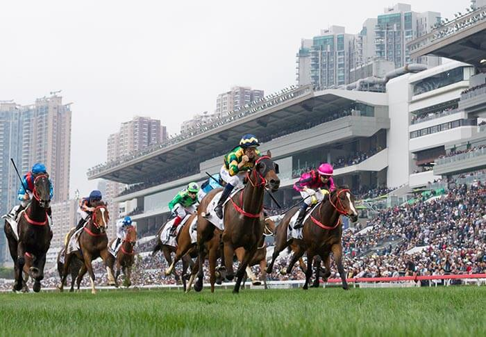Furore wins the 2019 BMW Hong Kong Derby