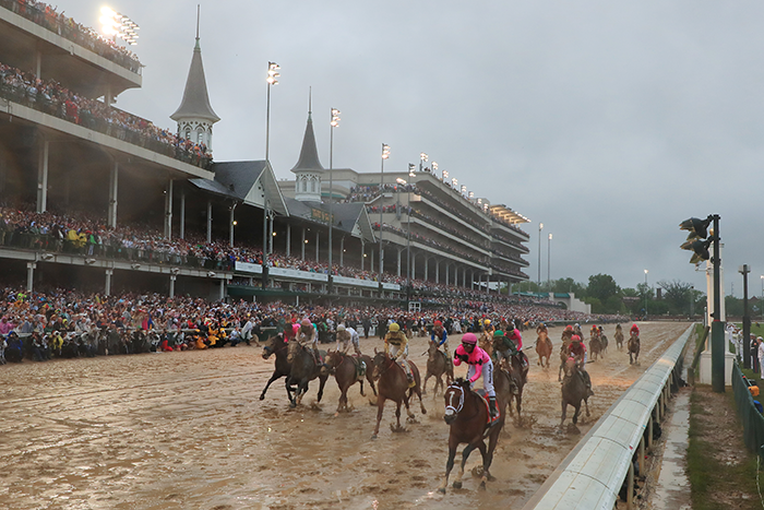 Maximum Security 'wins' the Kentucky Derby