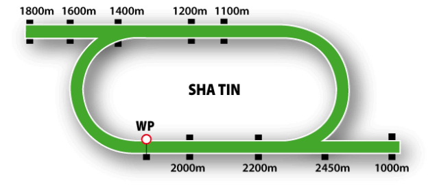 Sha Tin Course Map