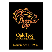 Breeders' Cup 1986 Review