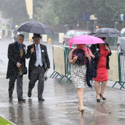 Further showers due on day two of Royal Ascot