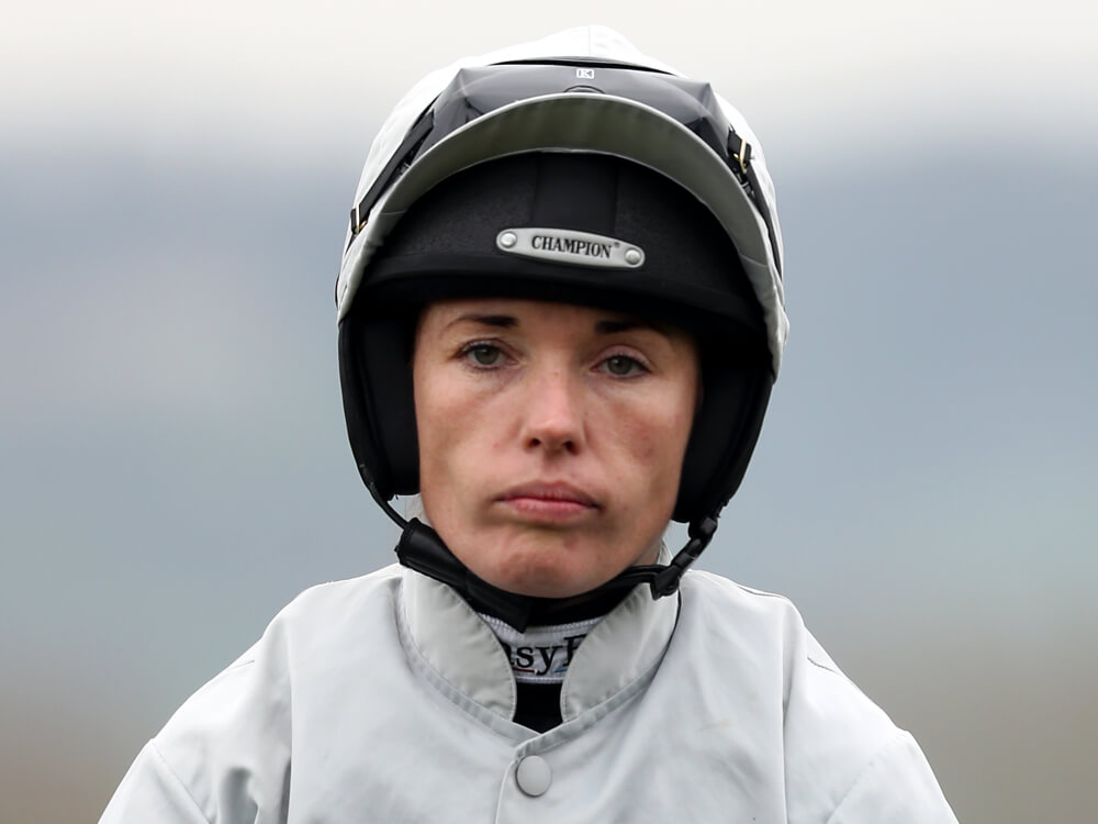 Katie Walsh Taken To Hospital With Arm Injury After Aintree Fall At The Races