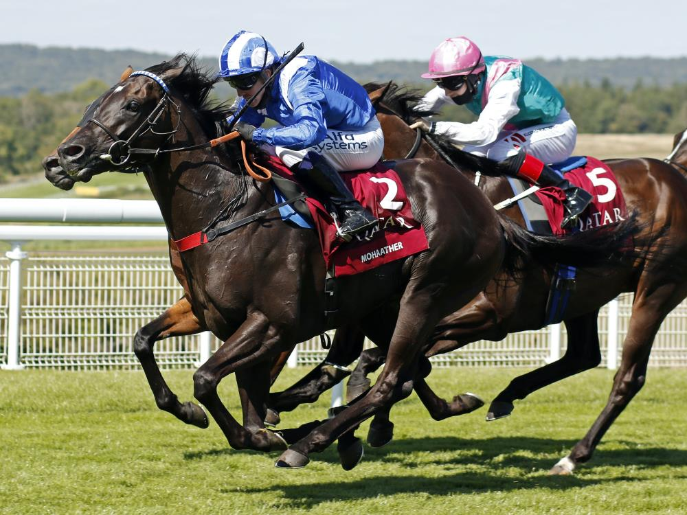 Mohaather wins the Sussex Stakes