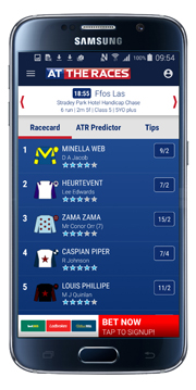 Android App Info | At The Races