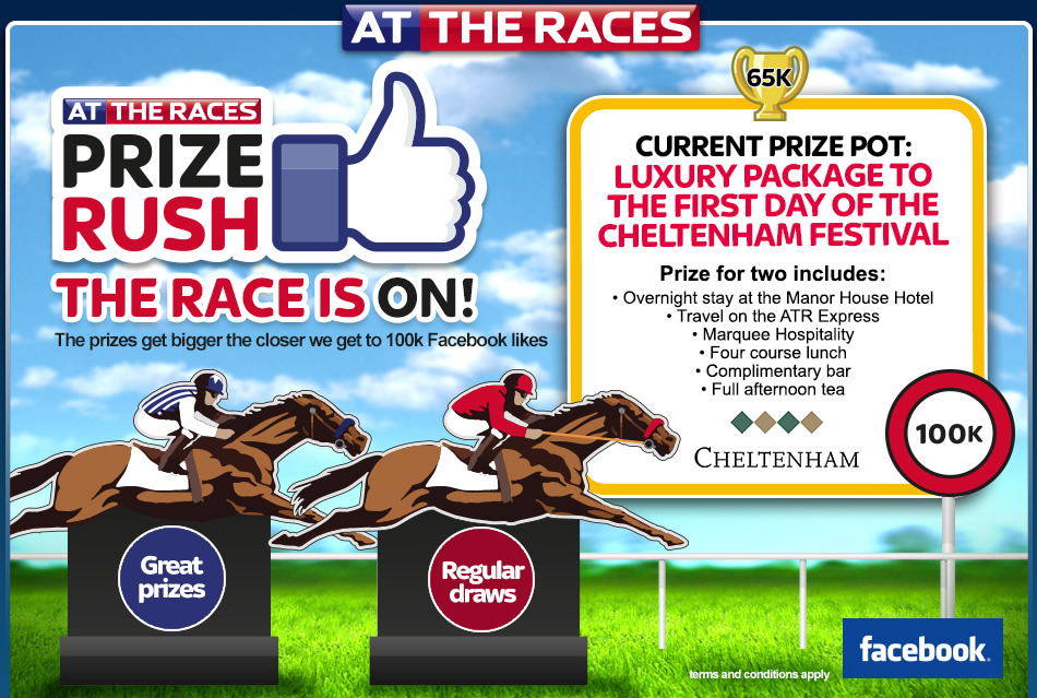Go to At The Races Facebook Page