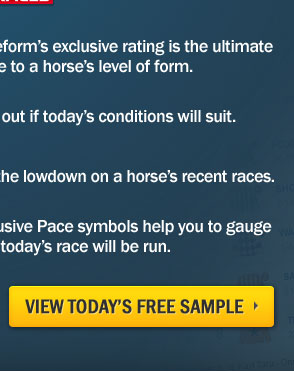 Timeform - The Essential Form Tool